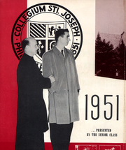 Page 5, 1951 Edition, St Josephs University - Greatonian Yearbook (Philadelphia, PA) online yearbook collection