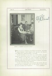 Page 14, 1925 Edition, Redlands High School - Makio Yearbook (Redlands, CA) online yearbook collection