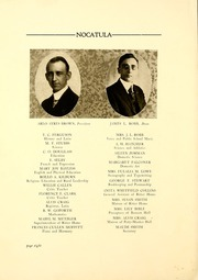 Page 14, 1924 Edition, Tennessee Wesleyan College - Nocatula Yearbook (Athens, TN) online yearbook collection