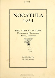 Page 7, 1924 Edition, Tennessee Wesleyan College - Nocatula Yearbook (Athens, TN) online yearbook collection