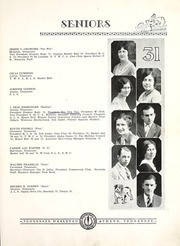 Page 13, 1931 Edition, Tennessee Wesleyan College - Nocatula Yearbook (Athens, TN) online yearbook collection