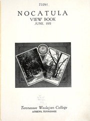 Page 7, 1931 Edition, Tennessee Wesleyan College - Nocatula Yearbook (Athens, TN) online yearbook collection