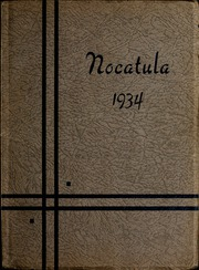 Tennessee Wesleyan College - Nocatula Yearbook (Athens, TN) online yearbook collection, 1934 Edition, Page 1