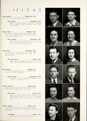 Page 19, 1943 Edition, Tennessee Wesleyan College - Nocatula Yearbook (Athens, TN) online yearbook collection