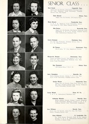 Page 20, 1943 Edition, Tennessee Wesleyan College - Nocatula Yearbook (Athens, TN) online yearbook collection