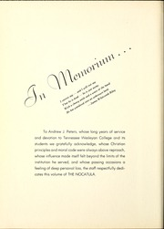 Page 10, 1948 Edition, Tennessee Wesleyan College - Nocatula Yearbook (Athens, TN) online yearbook collection