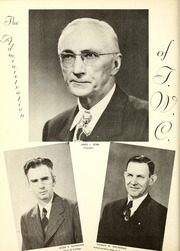 Page 14, 1948 Edition, Tennessee Wesleyan College - Nocatula Yearbook (Athens, TN) online yearbook collection