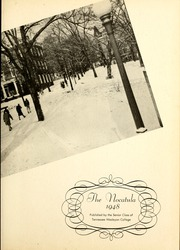 Page 7, 1948 Edition, Tennessee Wesleyan College - Nocatula Yearbook (Athens, TN) online yearbook collection