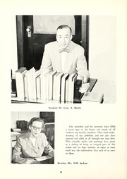 Page 14, 1953 Edition, Tennessee Wesleyan College - Nocatula Yearbook (Athens, TN) online yearbook collection