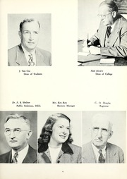 Page 15, 1953 Edition, Tennessee Wesleyan College - Nocatula Yearbook (Athens, TN) online yearbook collection