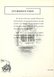 Page 8, 1953 Edition, Tennessee Wesleyan College - Nocatula Yearbook (Athens, TN) online yearbook collection