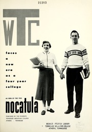 Page 5, 1955 Edition, Tennessee Wesleyan College - Nocatula Yearbook (Athens, TN) online yearbook collection