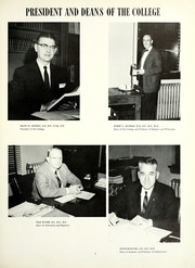 Page 11, 1960 Edition, Tennessee Wesleyan College - Nocatula Yearbook (Athens, TN) online yearbook collection