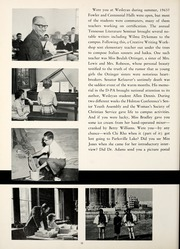 Page 16, 1964 Edition, Tennessee Wesleyan College - Nocatula Yearbook (Athens, TN) online yearbook collection