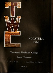 Page 5, 1968 Edition, Tennessee Wesleyan College - Nocatula Yearbook (Athens, TN) online yearbook collection