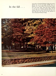 Page 8, 1969 Edition, Tennessee Wesleyan College - Nocatula Yearbook (Athens, TN) online yearbook collection