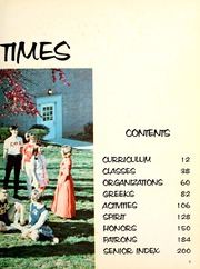 Page 7, 1970 Edition, Tennessee Wesleyan College - Nocatula Yearbook (Athens, TN) online yearbook collection