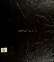 1972 Edition, Tennessee Wesleyan College - Nocatula Yearbook (Athens, TN)