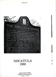 Page 5, 1980 Edition, Tennessee Wesleyan College - Nocatula Yearbook (Athens, TN) online yearbook collection