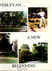 Page 5, 1985 Edition, Tennessee Wesleyan College - Nocatula Yearbook (Athens, TN) online yearbook collection