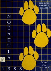 1988 Edition, Tennessee Wesleyan College - Nocatula Yearbook (Athens, TN)