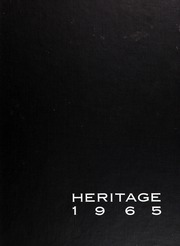 Page 1, 1965 Edition, Pilgrim High School - Heritage Yearbook (Warwick, RI) online yearbook collection