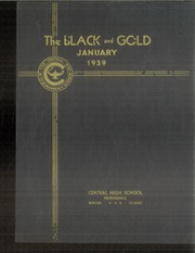 1939 Edition, Central High School - Black And Gold Yearbook (Providence, RI)