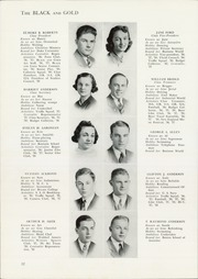 Page 14, 1939 Edition, Central High School - Black And Gold Yearbook (Providence, RI) online yearbook collection