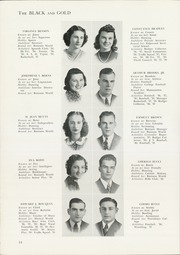 Page 16, 1939 Edition, Central High School - Black And Gold Yearbook (Providence, RI) online yearbook collection