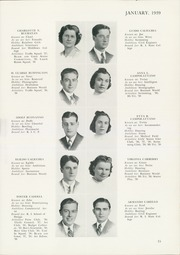 Page 17, 1939 Edition, Central High School - Black And Gold Yearbook (Providence, RI) online yearbook collection