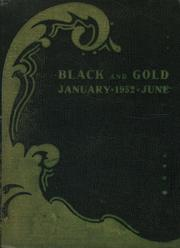1952 Edition, Central High School - Black And Gold Yearbook (Providence, RI)