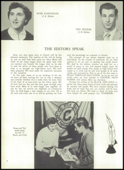 Page 8, 1955 Edition, Central High School - Black And Gold Yearbook (Providence, RI) online yearbook collection