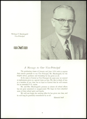 Page 13, 1956 Edition, Central High School - Black And Gold Yearbook (Providence, RI) online yearbook collection
