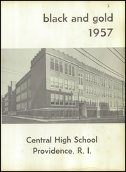 Page 5, 1957 Edition, Central High School - Black And Gold Yearbook (Providence, RI) online yearbook collection