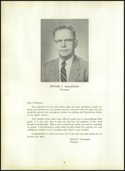 Page 8, 1957 Edition, Central High School - Black And Gold Yearbook (Providence, RI) online yearbook collection