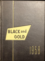 1958 Edition, Central High School - Black And Gold Yearbook (Providence, RI)
