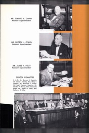 Page 13, 1958 Edition, Central High School - Black And Gold Yearbook (Providence, RI) online yearbook collection