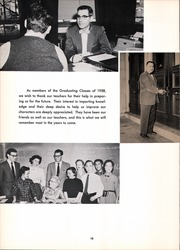 Page 14, 1958 Edition, Central High School - Black And Gold Yearbook (Providence, RI) online yearbook collection
