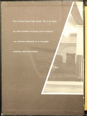 Page 2, 1958 Edition, Central High School - Black And Gold Yearbook (Providence, RI) online yearbook collection