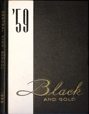 1959 Edition, Central High School - Black And Gold Yearbook (Providence, RI)
