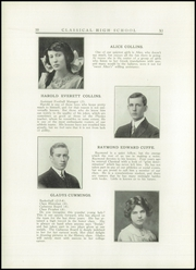 Page 14, 1914 Edition, Classical High School - Caduceus Yearbook (Providence, RI) online yearbook collection