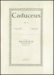 Page 5, 1914 Edition, Classical High School - Caduceus Yearbook (Providence, RI) online yearbook collection