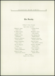 Page 8, 1914 Edition, Classical High School - Caduceus Yearbook (Providence, RI) online yearbook collection