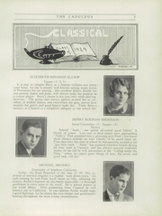Page 9, 1929 Edition, Classical High School - Caduceus Yearbook (Providence, RI) online yearbook collection