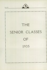 Page 10, 1935 Edition, Classical High School - Caduceus Yearbook (Providence, RI) online yearbook collection