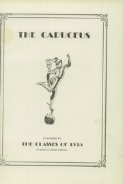 Page 5, 1935 Edition, Classical High School - Caduceus Yearbook (Providence, RI) online yearbook collection