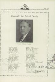Page 9, 1935 Edition, Classical High School - Caduceus Yearbook (Providence, RI) online yearbook collection