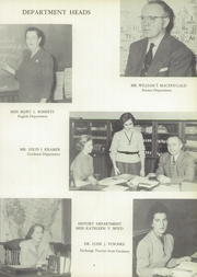 Page 11, 1953 Edition, Classical High School - Caduceus Yearbook (Providence, RI) online yearbook collection