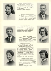 Page 42, 1957 Edition, Classical High School - Caduceus Yearbook (Providence, RI) online yearbook collection
