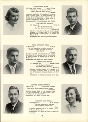 Page 49, 1957 Edition, Classical High School - Caduceus Yearbook (Providence, RI) online yearbook collection
